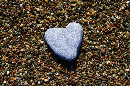 Cambria stone heart