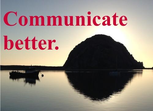communicate better