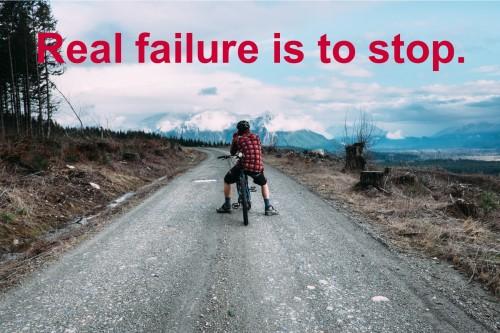 real failure..