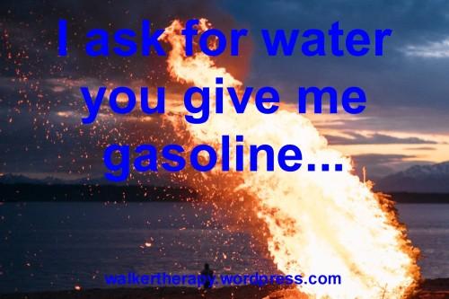 water-gasoline
