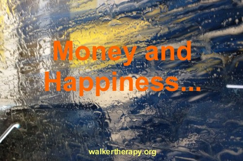 Money and Happiness..