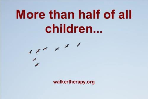 more than half..