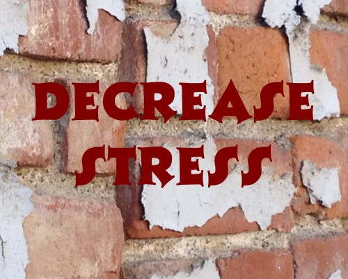 decrease stress