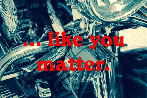 like you matter