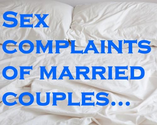 sex complaints