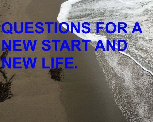 questions for a new life