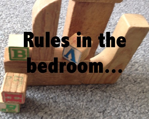 rules in the bedroom 2