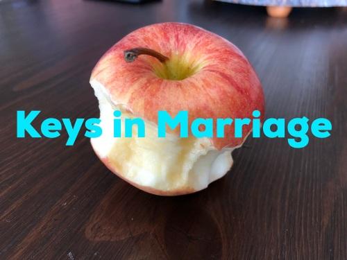 Keys in marriage